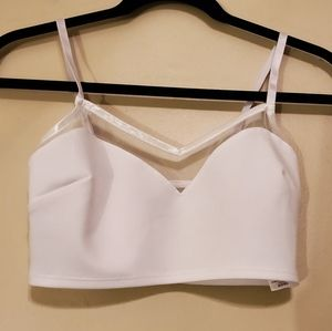 Topshop Camisole Crop Top